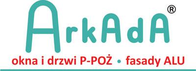 Arkada – Kod Sp. j. Okna i drzwi P-POŻ, Fasady ALU Retina Logo